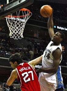 NBA Players Knee and Ankle Pain - Al Thornton