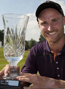 Professional Golfer Back Below Par - Wallace Booth