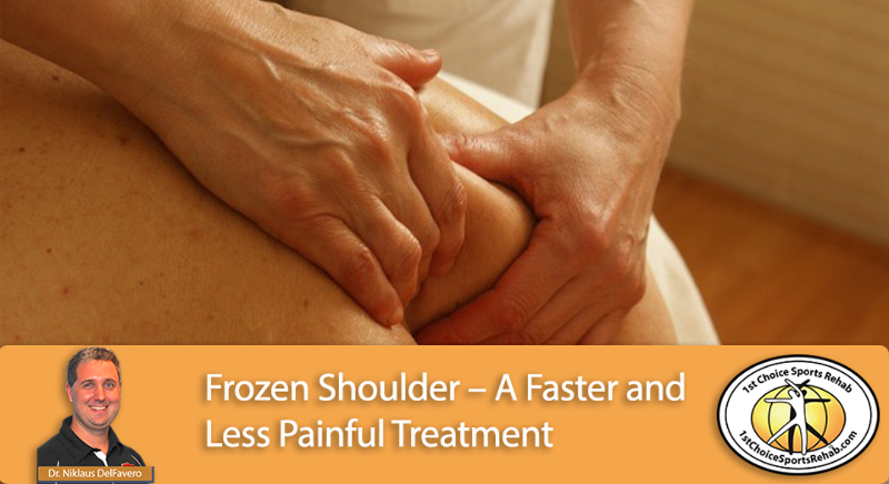 frozen shoulder treatment at 1st choice sports rehab